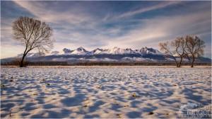 Tatry zima